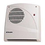 Glen Dimplex FX20VE - Calefactor con fijación para montaje mural y temporizador electrónico de 1/2...