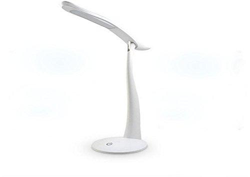Usb wiederaufladbare LED-Tischleuchte Touch Dimmen Augenschutz Lampe , pink (Draht Ersatz Kopfhörer)