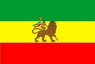 Éthiopie Lion of Judah 150 cm x 90 cm