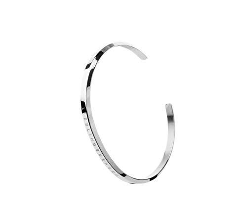 SIMPLIICITY Armband Frauen Silber mit Gravur LIEBLINGSMENSCH, Freundschaftsarmband, Geschenk für Frauen, Armreif, Damen Schmuck