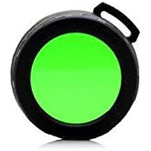 Nitecore NFG40 - Filtro para linterna, color verde