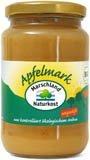 Marschland Naturkost - Bio Apfelmark ungesüßt Apfelmus - 700g