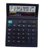 Gold Leaf Check and Correct Electronic Calculator 12 Digits CH 612