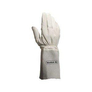 Venitex - Gants cuir soudeur crispin 15 cm TIG15K - Couleur : Gris - Taille : 10