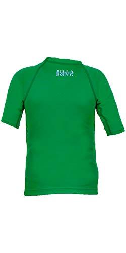 BILLABONG Go Bananas Short Sleeved Rash Vest in Kelly Green P4KY10 Age/Size - 2 Years