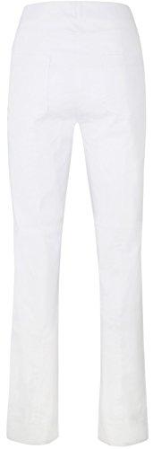 Stehmann-Igor2-782 �?gerades Bein mit Gesaesstaschen Weiß
