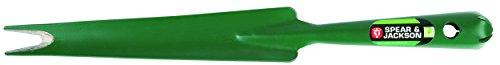 Spear & Jackson 50045 Couteau désherbeur affûté Tout Acier, Vert