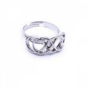Unendlich Doppelt Ring – Infinity – Verstellbar – Revenge Emily Thorne