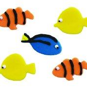 essbar Sugarcraft Tropische Fische Dory Nemo Cupcakes Kuchen Topper-5Stück-Perfekt für Dekoration Ihrer Kuchen (Toppers Fisch Kuchen)