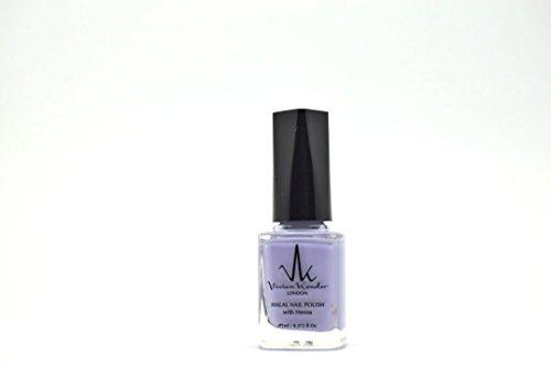 Vivien Kondor –, Lavendel, durchlässig Henna Halal Nagellack