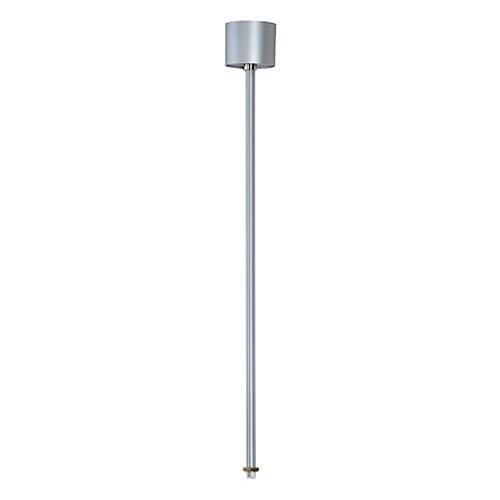 Slv eutrac - Suspensión techo 3fases 0,6m gris/plata