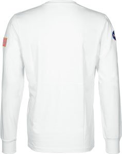 Alpha Industries NASA Longsleeve Weiß