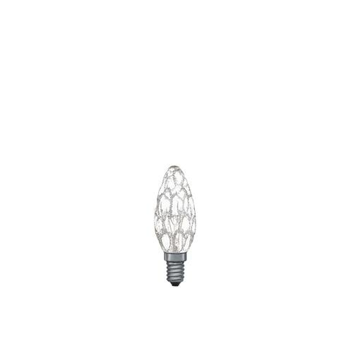 Preisvergleich Produktbild Paulmann Kerzenlampe 25W E14 Krokoeis klar