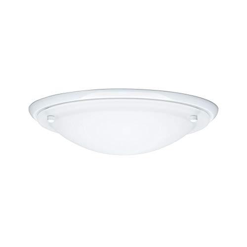 Paulmann 70343 WallCeiling Arctus IP44 max.60W E27 275mm WeissŸ/Opak 230V Metall/Glas LED Deckenaufbauleuchte Deckenleuchte Deckenlampe703.43 -
