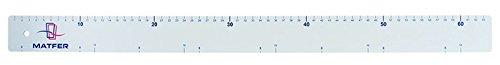 REGLE GRADUEE PLAST 640X50--MT140206