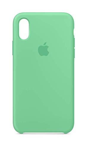 Apple Custodia in Silicone (per iPhone XS) - VerdeMenta