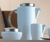 Rosenthal Vario Kaffeekanne 6 Pers. Space/Metall
