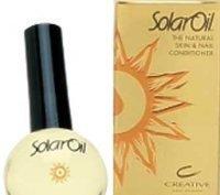 Creative Nail Design Traitement pour les ongles Solaroil - Mélange d'huile de jojoba, d'huile d'amande et de vitamine E - 15 ml