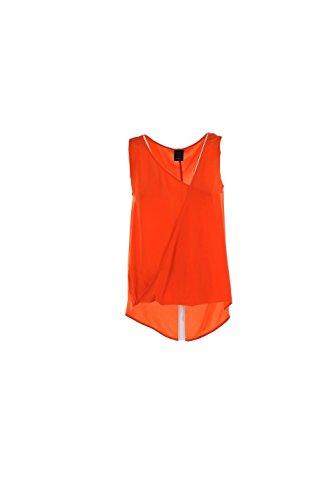 Top Donna Pinko 40 Arancione Pellicola Primavera Estate 2016