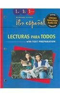 ?En Espa?ol!: Lecturas Para Todos (Spanish Iar) with Audio CD Level 1 (Espanol!)