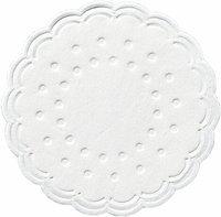 Tassenuntersetzer - weiß - D: 7,5 cm - 8-lagig - 250 Stück/Karton