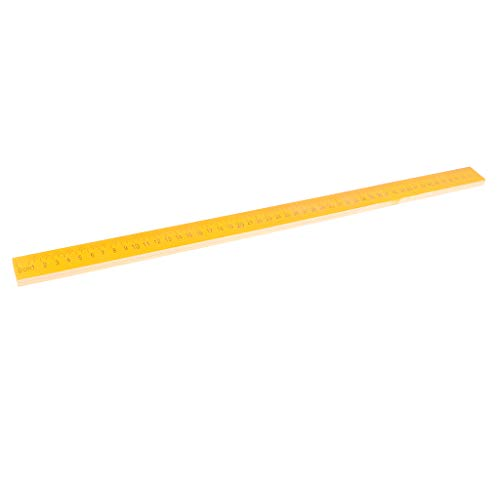 D DOLITY Lineal aus Holz, Student Schule Büro Mess-Werkzeug, 12/20 Zoll - 50 cm