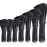 Austor 700 Piezas Bridas de Plastico Negras, Longitudes 4