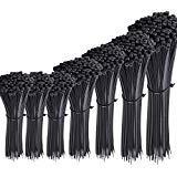 Austor 700 Piezas Bridas de Plastico Negras,