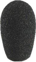 Monacor 23.2580 30x51mm Mikrofon-Windschutz, schwarz