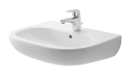 Duravit Vero Waschbecken (Duravit Waschbecken D-Code 60cm weiss, 2310600000)
