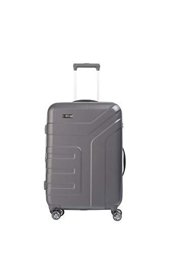 """Travelite Koffer-Serie \""""VECTOR\"""" von travelite: Robuste Hartschalen-Trolleys und Beautycases in 4 Trendfarben Kosmetikkoffer, 70 cm, 79 liters, Grau (Anthrazit)"""
