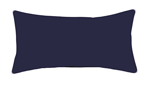 Bellana Kissenbezug Mako Jersey 40x80 cm Farbe: marine blau