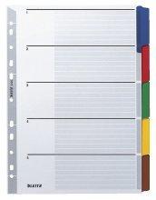 10 X LEITZ Kartonregister Blanko A4 10BL 4321-00-00