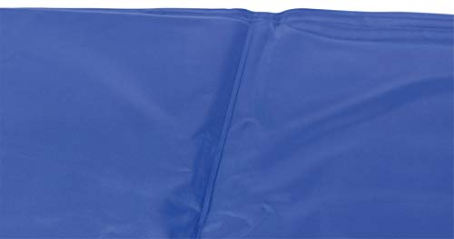 Kühlmatte für Hunde, 90 × 50 cm, blau - 4