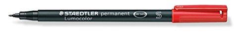 staedtler-313-2-lumocolor-universal-permanent-superfine-pens-red-pack-of-10