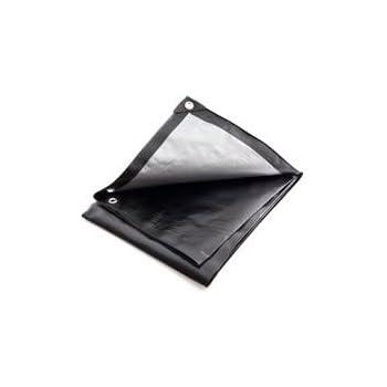 Tough 200G//M Extra Thick Grey Tarpaulin 1.4m x 1.8m Multi Size Listing