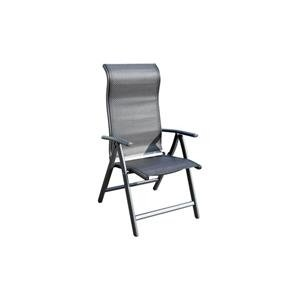 PROSIMEX COMPANY LIMITED M234861-positions Fauteuil Aluminium textilene Nuit Anthracite