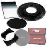 WonderPana 66 FreeArc ND 0.9SE Kit Essentiel - Rotatif Porte-filtre, Bouchon d'Objectif, et Filtres Fotodiox Pro 6.6