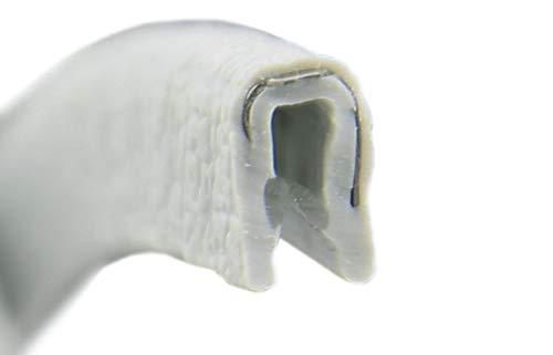 1g Gummi (KS0-1G Kantenschutzprofil von SMI-Kantenschutzprofi - PVC Gummi Klemmprofil Kantenschutz - Grau - einfache Montage, selbstklemmend ohne Kleber Klemmbereich 0-1 mm (10 m))