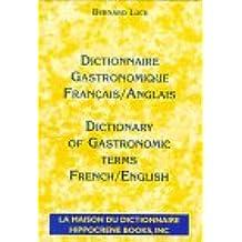 Gastronomique Dictionnaire