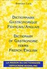 Dictionnaire de la gastronomie