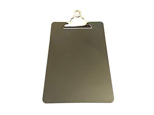 12Stück schwarz A5Klemmbretter mit Schmetterling Clip mit liniert Seite–Clip Board