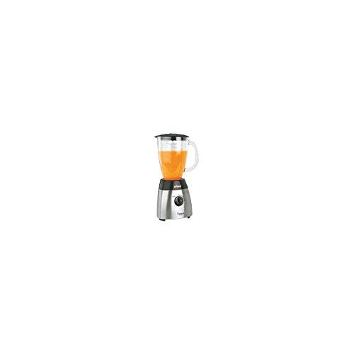 Ufesa BS4795 - Batidora de vaso de vidrio y acero inoxidable.
