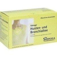 Sidroga Husten- und Bronchialtee Filterbeutel, 20 St.