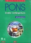 PONS Gro�er Anf�ngerkurs, je 4 Audio-CDs m. Lehrbuch, Spanisch Bild