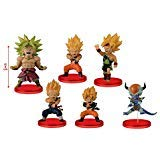 Dragon Ball Z WCF BATTLE OF SAIYANS vol4 whole set of 6
