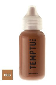 S/B Airbrow Color 066 Dark Auburn 1oz. Temptu S/B Brow Color Bottle by Temptu Pro