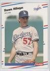 1988 Fleer # 519 Shawn Hillegas Los Angeles Dodgers Baseball Card