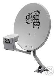 Dish Network 500 Satellite Dish with Quad LNB  available at amazon for Rs.15549