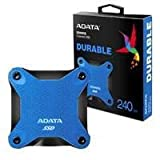 ADATA SD600Q 240GB Externe Solid State Drive Festplatte, blau